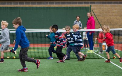 Junior Tennis Coaching – Sept to Dec