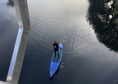 Paddle Boarding on the Lagan